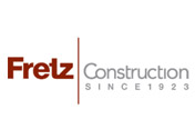 Showing Fretz Construction's logo.