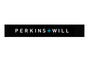 Showing Perkins + Will's logo.