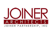 Showing Joiner Architects' logo.