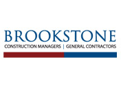 Showing Brookstone's logo.