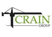 Showing Crain Group's logo.