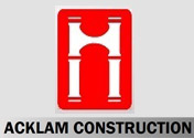 Showing Acklam Construction's logo.