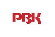 Showing PBK's logo.