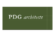 Showing PDG Architects' logo.