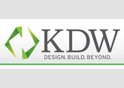 Showing KDW's logo.