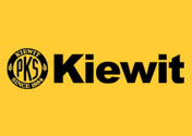 Showing Kiewit's logo.