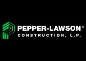 Showing Pepper-Lawson's logo.