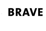 Showing Brave's logo.