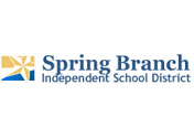 Showing the logo for the Spring Branch Independent School District.