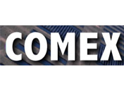 Showing Comex's logo.
