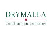Showing Drymalla Construction Company's logo