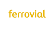 Showing Ferrovial's logo